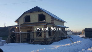 20 300x169 - Строительство домов - Наши работы