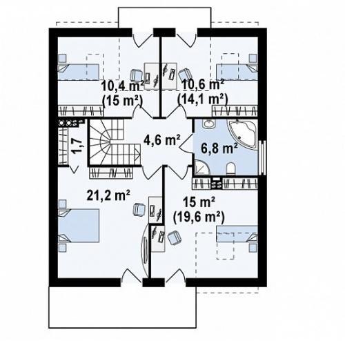 31 4 - Проект дома №19
