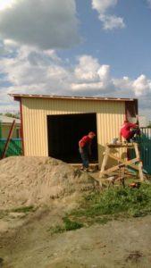Пристройка к дому - Наши работы