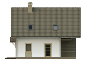 filesz500 res elewacje z62 z62 bok1 png 300x225 - Проект дома №10