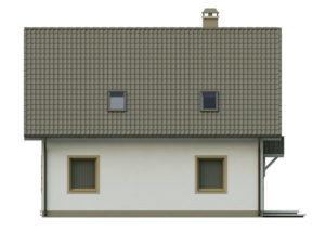 filesz500 res elewacje z62 z62 bok2 png 300x225 - Проект дома №10