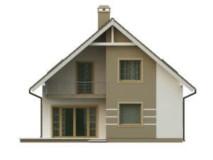 filesz500 res elewacje z62 z62 tyl png 300x225 - Проект дома №10