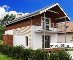 filesz500 res wizualizacje z25 z25 view1 jpg 300x247 - Проект дома №14