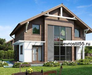 filesz500 res wizualizacje z47 z47 view1 jpg 300x246 - Проект дома №17