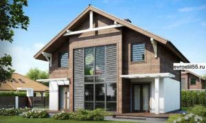 filesz500 res wizualizacje z47 z47 view3 jpg 300x179 - Проект дома №17