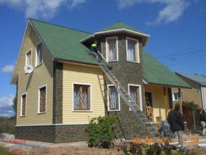 kremovyj 1 300x225 - Строительство домов - Наши работы