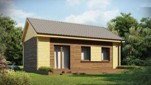 n1 3 300x169 - Проект дома №1