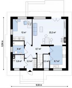 n21 3 244x300 - Проект дома №18