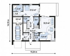 n7 5 300x240 - Проект дома №3